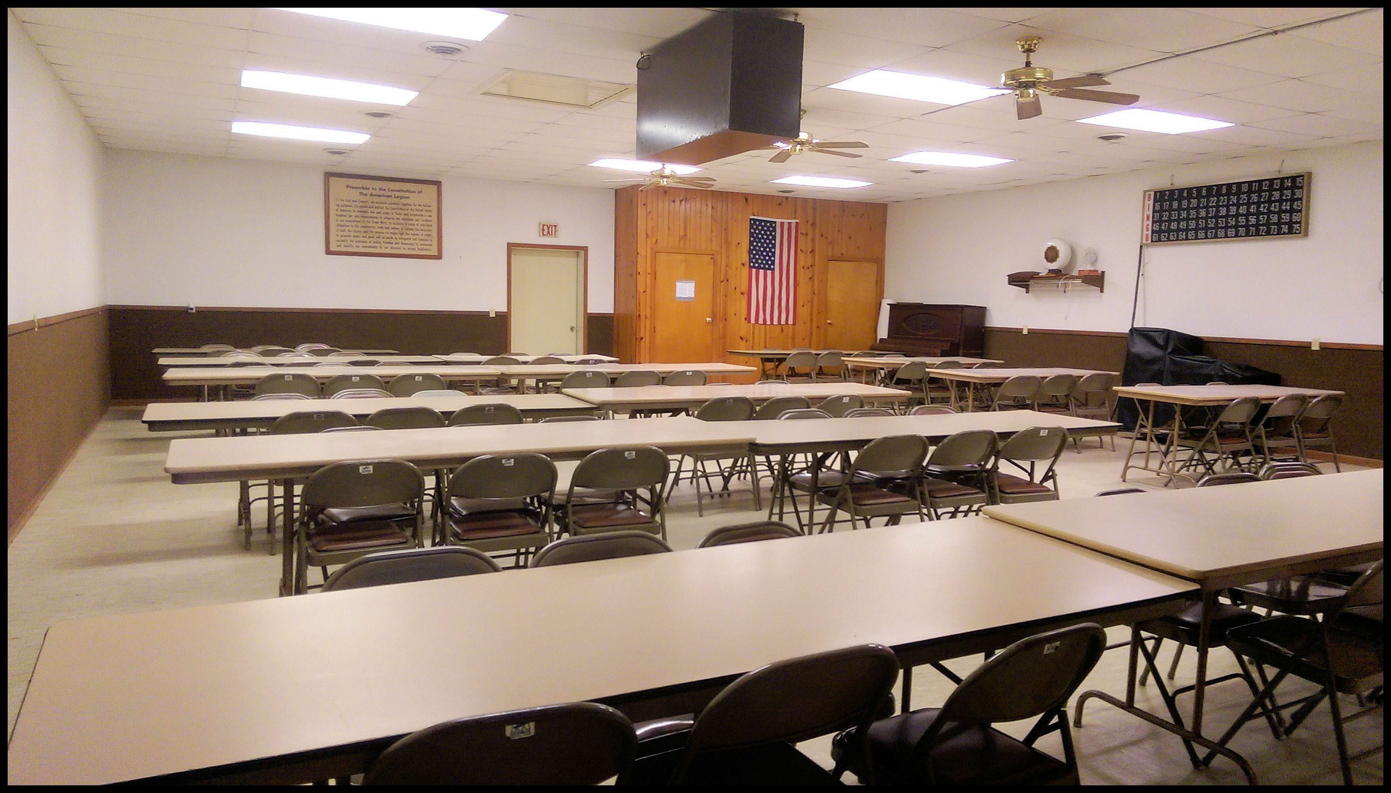Hazleton American Legion Community Hall - Interior
