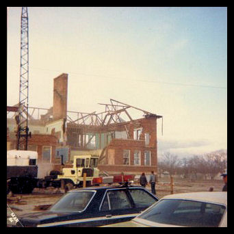 Hazleton High School Demolition