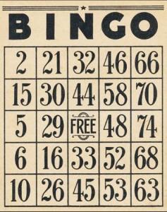 Bingo at the American Legion Hall @ American Legion Hall