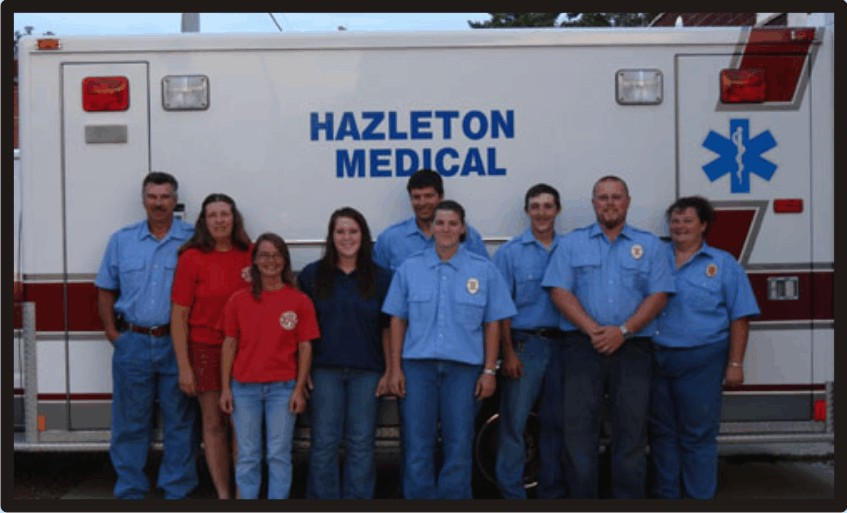 Hazleton Fire Department Volunteer Members