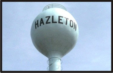 Hazleton Water Tower