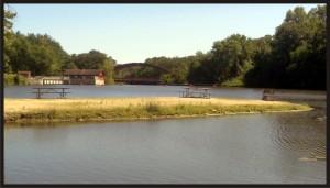 Fontana Lake Fishing Jetty