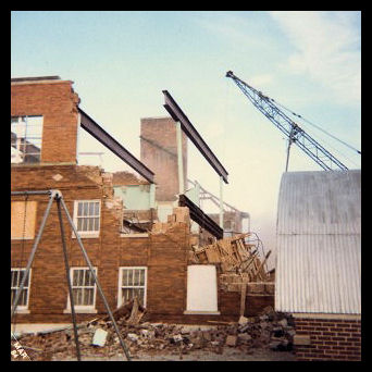 Hazleton High School Demolition