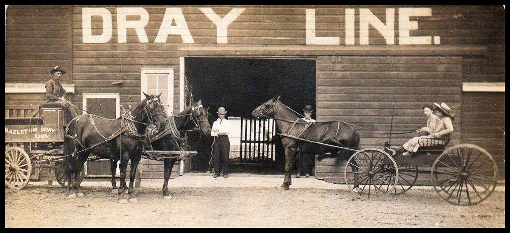 Hazleton Dray Line circa 1910